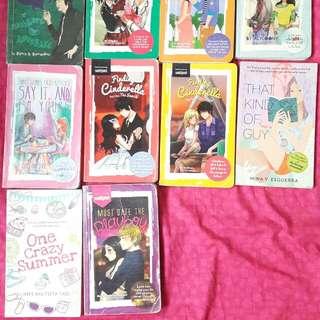 PRE-LOVED WATTPAD BOOKS
