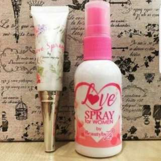 Authentic Love Spray - 50ml & Love Gel By Zarina Anjoulie PO