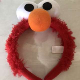Authentic Original Elmo Hair Band From USS