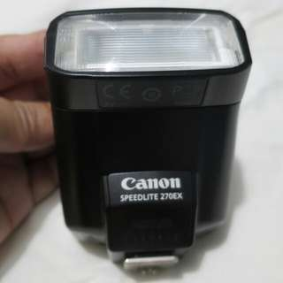 Canon Speedlite Flash 270EX