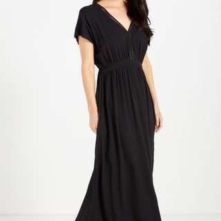 Black Maxi Dress beach wear