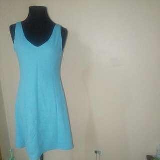 Light Blue Skater Dress - Medium