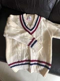 Jame Hunter Made in Hong Kong vintage wool pullover 香港製造 100%羊毛 毛衣