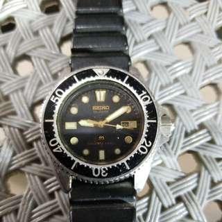 七十年代精工电子150m潛水錶