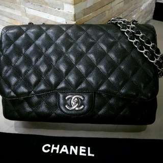Chanel Jumbo Black Cav #13