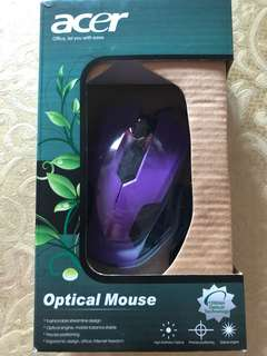 BNIB Acer Optical mouse