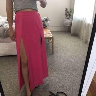 Cameo pink skirt