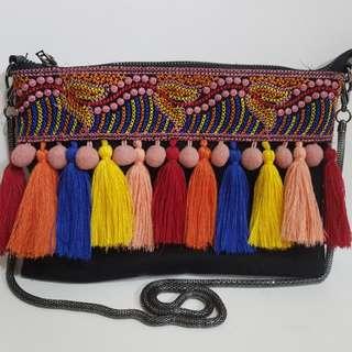 Sam Edelman pompom bag