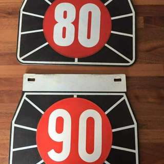 F.A.R mudflaps Original 60s accessories