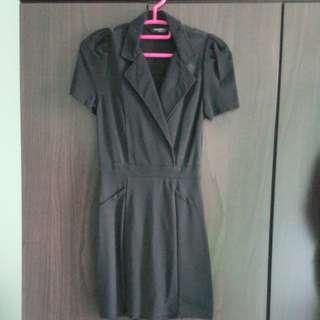 3/4 Black Dress Size 1