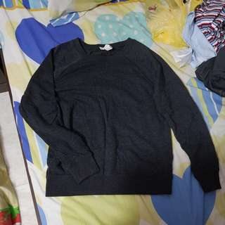 F21 Dark grey sweater