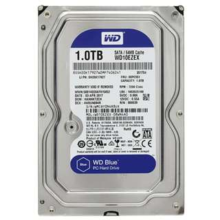WD Blue 1TB 64MB Cache @7200Rpm (NEW)