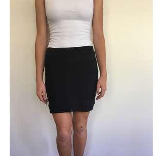 Black Kookai Bandage Skirt size 1