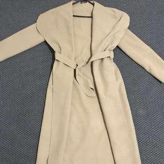 Tan Long Coat