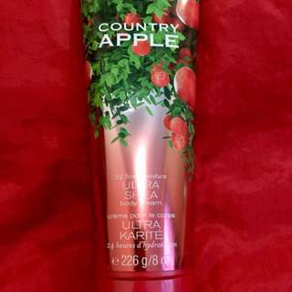 Authentic B&BW Ultra Shea Body Cream - Country Apple 🍎🍏