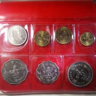 匯豐7O年代套装硬幣