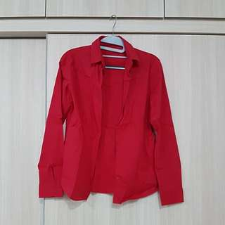 G2000 Red Long Sleeve