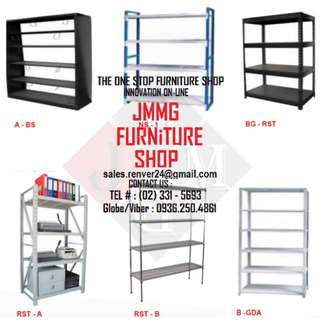 Steel Rack * adjustable shelves - office partition