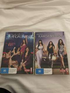 Keeping up with the Kardashians- season 2 & 3