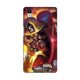 Case Custom Tema Hero Jhonson Mobile Legend