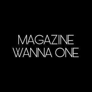 MAGAZINE - WANNA ONE