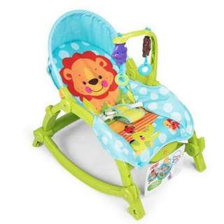 Baby Throne Infant To Toddler Music Cradle Rocker Baby Bouncer Chair Fold Baby Cradle