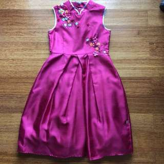 #ImlekHoki Girl party dress