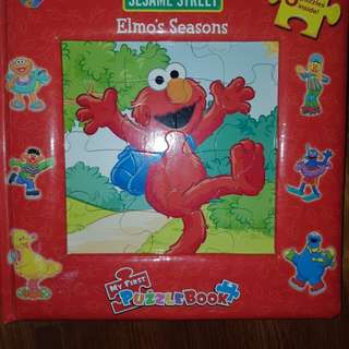Elmo's puzzles book