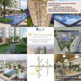 CONDO FOR SALE IN QUEZON CITY THE CELANDINE BY DMCI HOMES