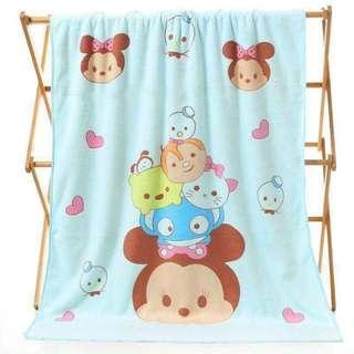 Tsum tsum bath towel