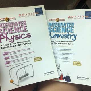 Science assessment books
