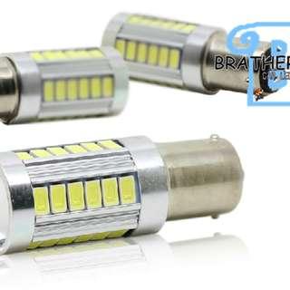 LED COB Brake Light Bulb Strobe Function(1) universal NEW STOCK