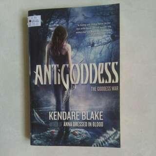 Antigoddess: The goddess war