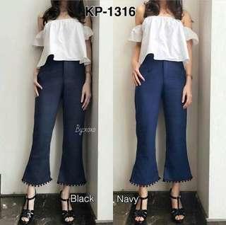 Celana fashion import bangkok NAVY