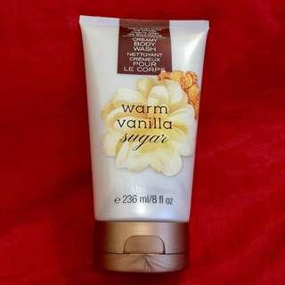 Authentic B&BW Creamy Body Wash - Warm Vanilla Sugar