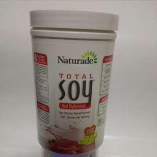 Used 2 servings only naturade total soy meal replacement