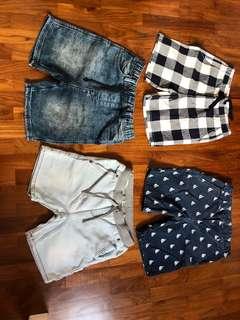 Shorts Bundle 8 - 9 YO Boy