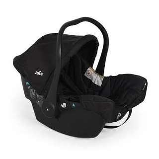 Joie Car Seat with Bloom Seat Cover