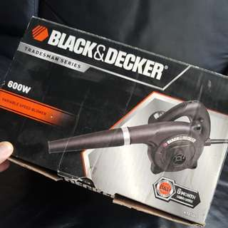 Black & Decker 600W Variable Speed Blower