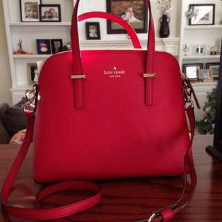 Kate Spade Cedar Street Maise Bag in Red