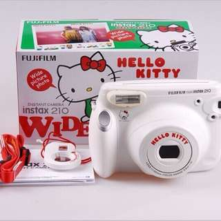 Hello Kitty Polaroid instax 210 + FREE Kate Spade pouch
