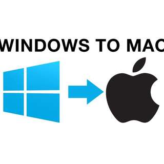 Windows OS to Mac OS