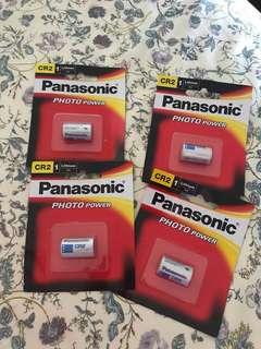 Panasonic photo power CR2 batteries