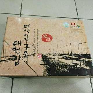 韓國購 海苔/一包50*10包