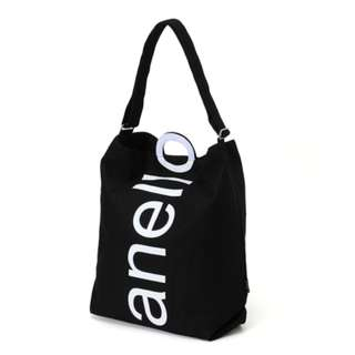 "Limited Color Cotton Canvas ""Anello"" 2 Way Tote Bag"