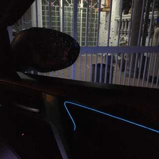 Interior Car Decorative Lining with LED Light Nice vision with different colour NEW STOCK