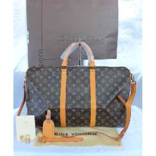 Louis Vuitton Keepall Monogram Canvas