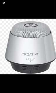 Brand new Creative woof speaker