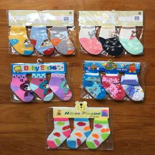 Cute Baby Socks (up to 12 months)