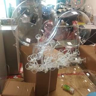 告白氣球LED棒 半完成